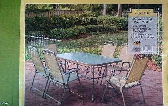Muebles de jardin americano con sombrilla - 5