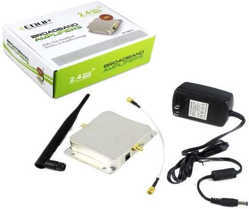 Amplificador wifi 2.4 Ghz 8W - 0