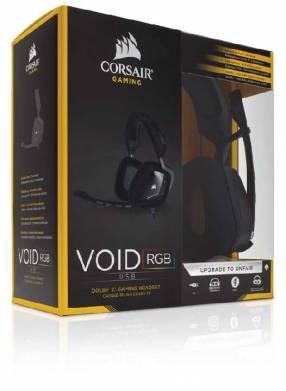 Auricular Corsair CA-9011130-NA gaming void usb rgb negro