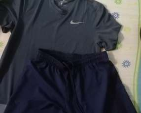 Short Nike Psg y remera Nike running