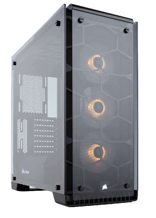 Caja Corsair CC-9011098-WW crystal 570X rgb - 1