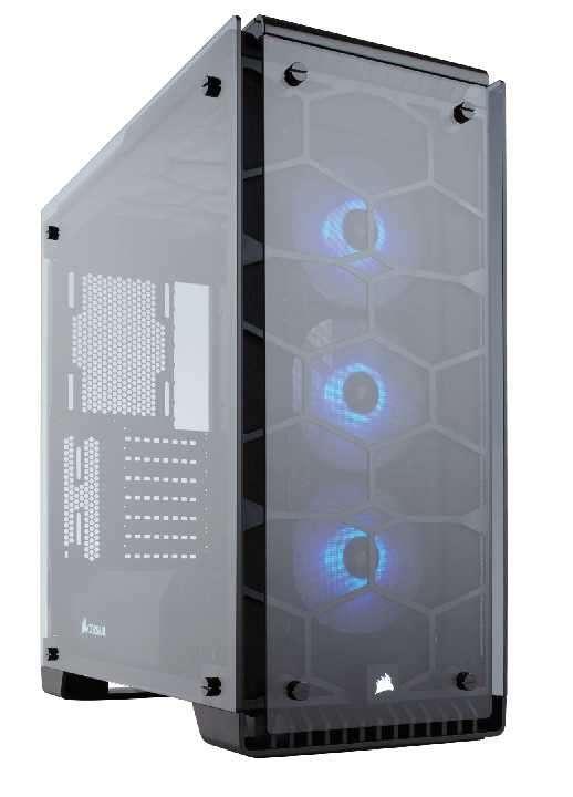 Caja Corsair CC-9011098-WW crystal 570X rgb - 0