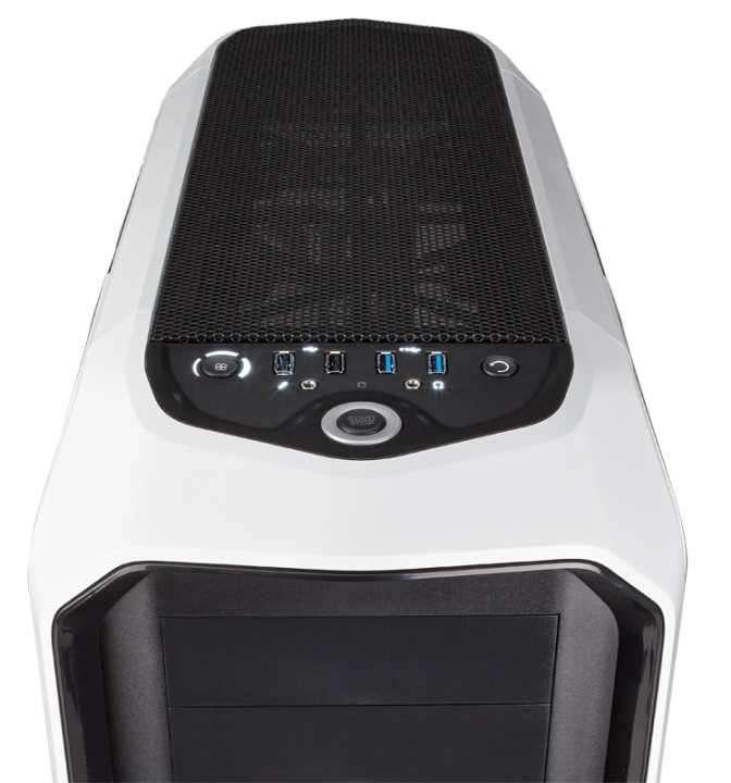 Caja Corsair CC-9011059-WW graphite 780T blanco - 1