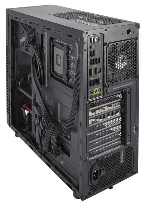 Caja Corsair CC-9011075-WW 100R negro - 1