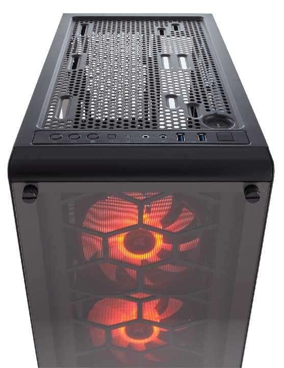 Caja Corsair CC-9011101-WW crystal 460X rgb - 3