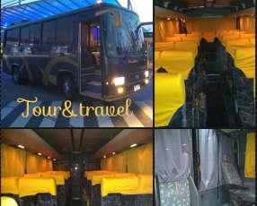 Buses y minibús de turismo