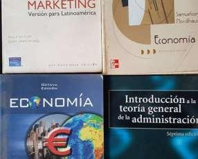 4 textos nuevos para economía y afines