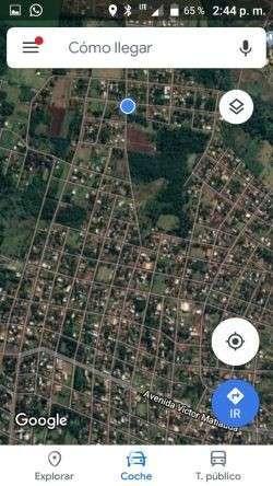 Terreno 574 m2 en Barrio Caabyrory de Encarnación - 0