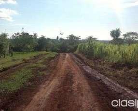 Terreno 4860 m2 en Cambyreta Itapúa