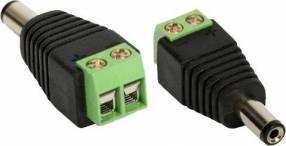 CCTV conector tipo p4 de energía
