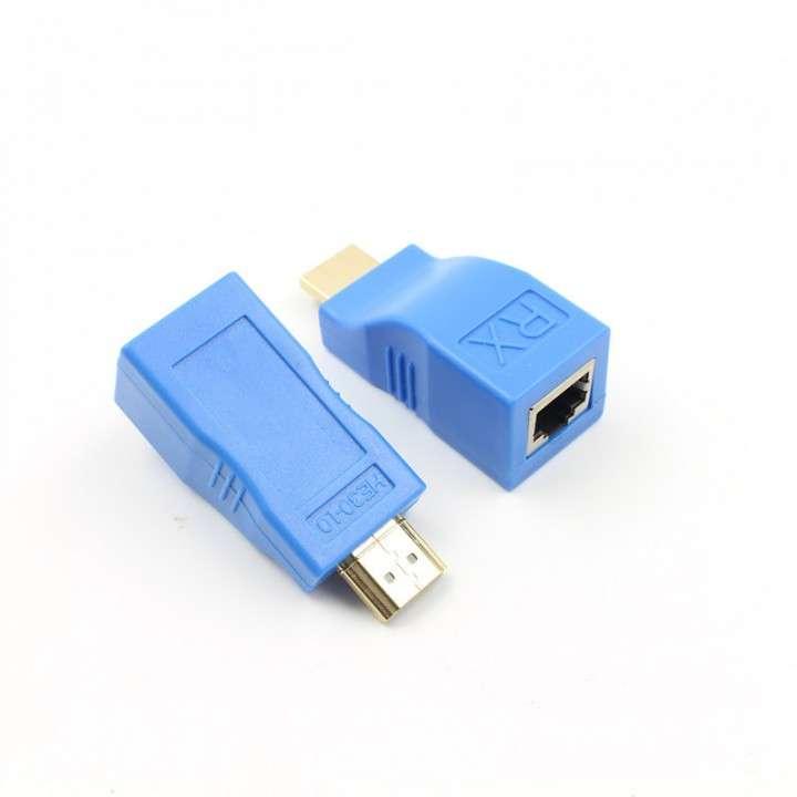 Extensor HDMI audio/vídeo - 1 RJ45 - 1