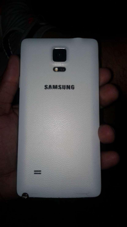 Samsung Galaxy Note 4 Blanco 32 gb Impecable