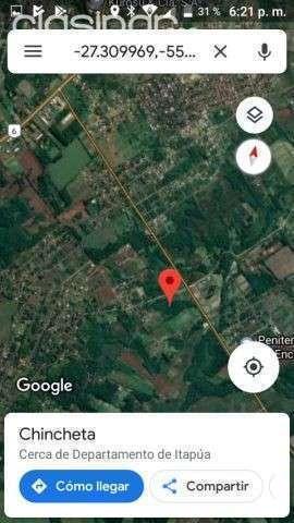 Terreno de 3 hectáreas Barrio Chaipe Encarnacion Itapuá - 0