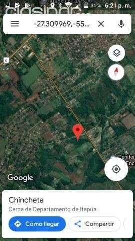3 hectáreas en barrio Chaipe de Encarnación - 0