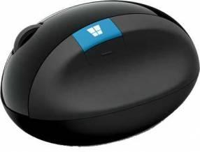 Mouse Microsoft l6v-00001 sculpt ergonomic negro