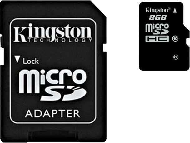 Memoria SD 8 GB Micro 2X1 - 1