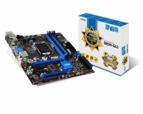 MB MSI LGA 1150 B85M-G43 S/V/R/DVI