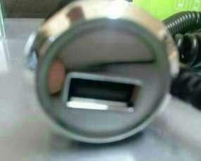 Cargador de teléfono tipo USB de 12 a 24 voltios desde el automóvil