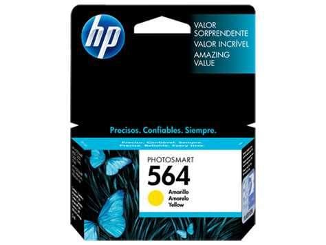 Tinta HP CB320WL 564 Yellow