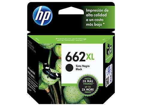 Tinta HP cz105al 662xl negra - 0