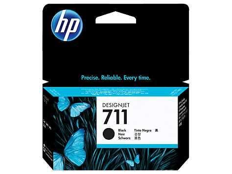 Tinta HP cz129a 711 negro t120/t520