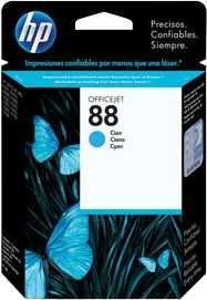 Tinta HP C9386A (88) Cyan