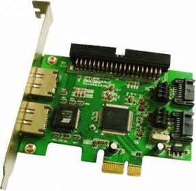 Tarjeta PCI-E para HD 2P SATA 2P ESATA 1P IDE