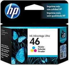 Tinta HP cz638al 46 Color
