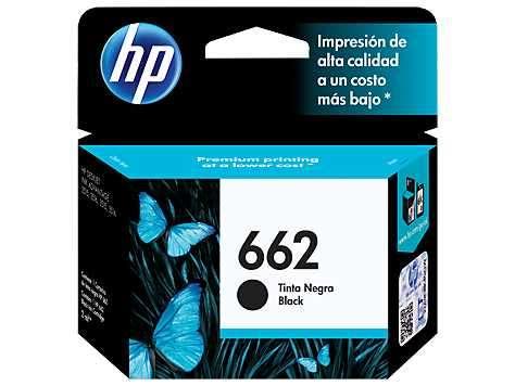 Tinta HP cz103al 662 negro 2515