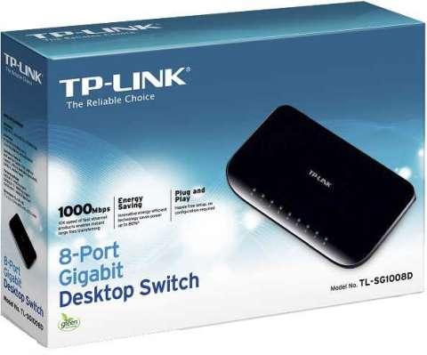 Switch TP-Link 8 Port 10/100/1000 TL-SG1008D