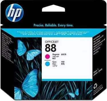 Tinta HP C9382 (88) K8600 magenta/cyan cabezal