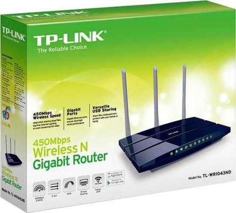 Router TP-Link TL-WR1043ND 450 MBPS V3.0
