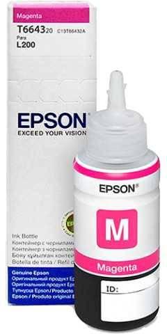 Tinta Epson L210 Magenta T664320