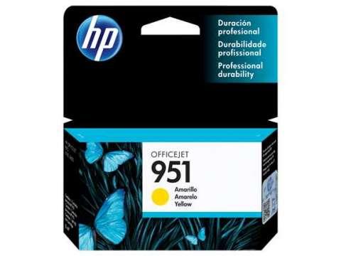 Tinta HP CN052AL 951 Yellow/8600W
