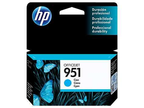 Tinta HP CN050AL 951 Cyan/8600W