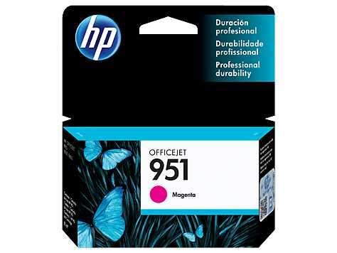 Tinta HP CN051AL 951 Magenta/8600W