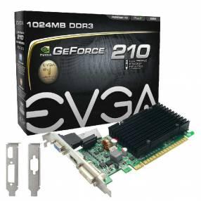 VGA EVGA G210 1GB DDR3 520 DVI/VGA/HDMI/64Bits
