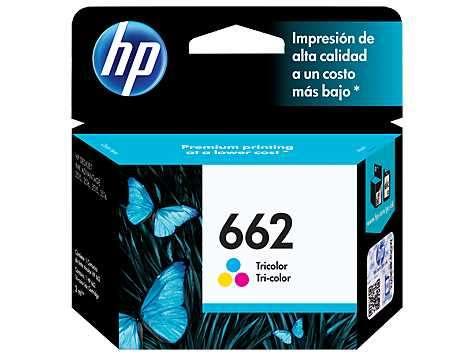 Tinta HP cz104al 662 color 2515