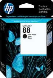 Tinta HP C9385A (88) Negro - 0