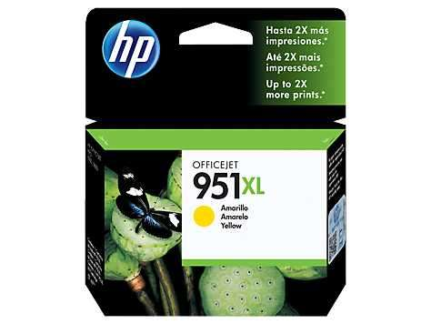 Tinta HP cn048al 951xl yellow 8600W