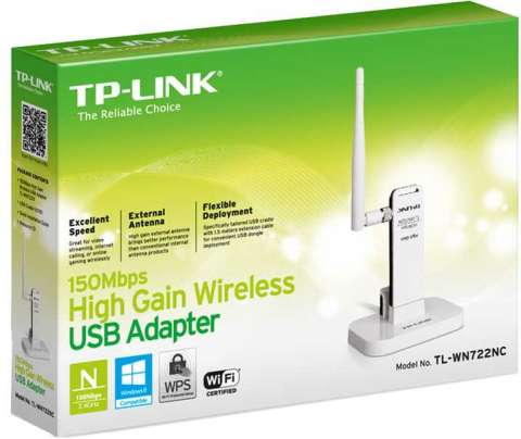 TP-Link TL-WN722NC USB 150 mbps