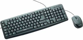 Teclado Verbatim 98111 c/mouse negro usb