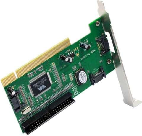 Tarjeta PCI para HD 2P SATA 1P IDE 1P ESATA