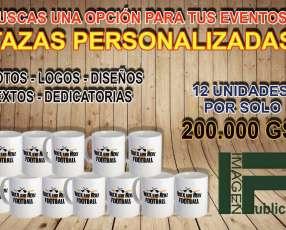 Promo tazas personalizadas en Asunción