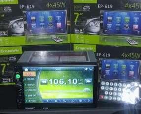 Autoradio con pantalla 7 pulgadas
