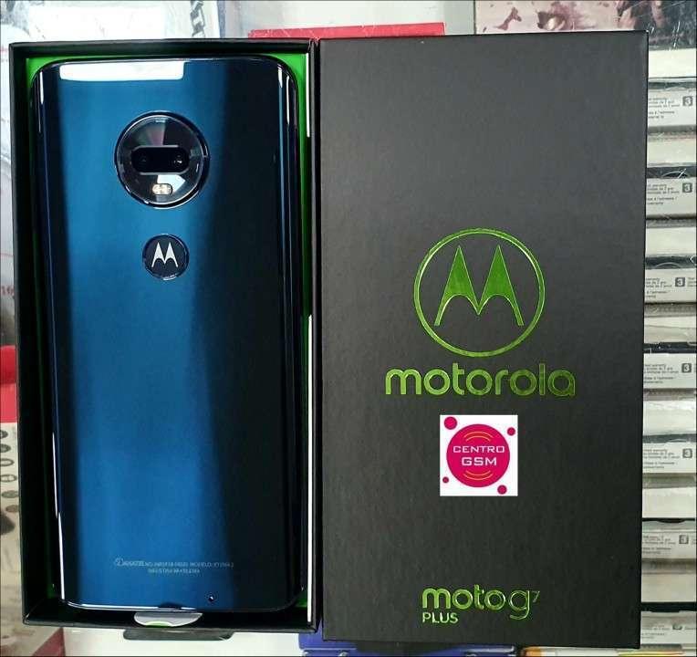 Motorola Moto G7 Plus 64 gb nuevos - 1