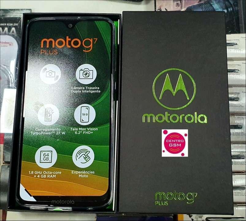 Motorola Moto G7 Plus 64 gb nuevos - 0