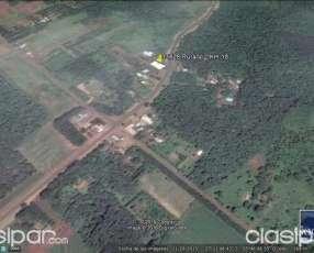 Casa con tinglado ruta 6 km 18 Capitán Miranda Itapúa