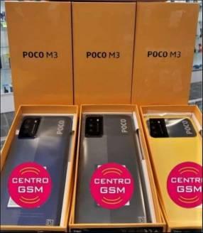 Xiaomi Poco M3 de 64gb nuevos, sellados!