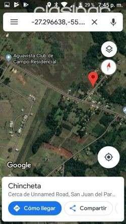 Terreno 4200 m2 en San Juan del Paraná Itapúa - 0